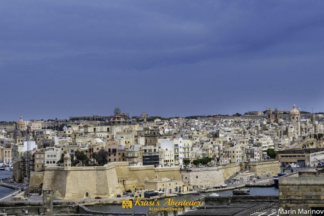 Aussicht von Valletta / Гледка от Валета