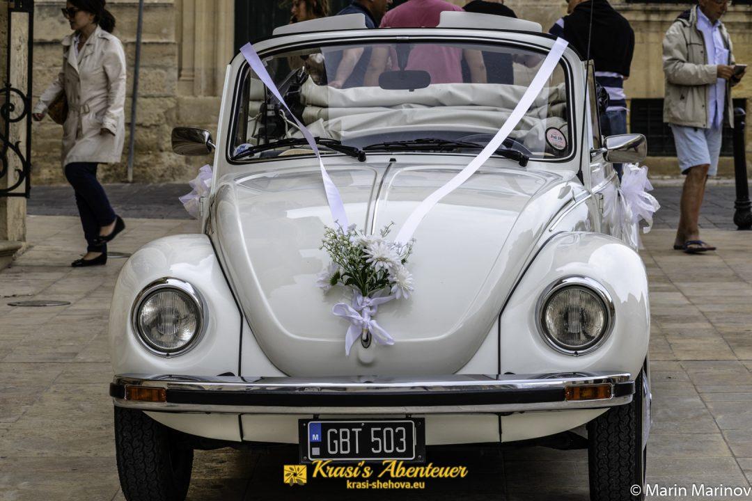 Hochzeitsauto / Сватбарска кола