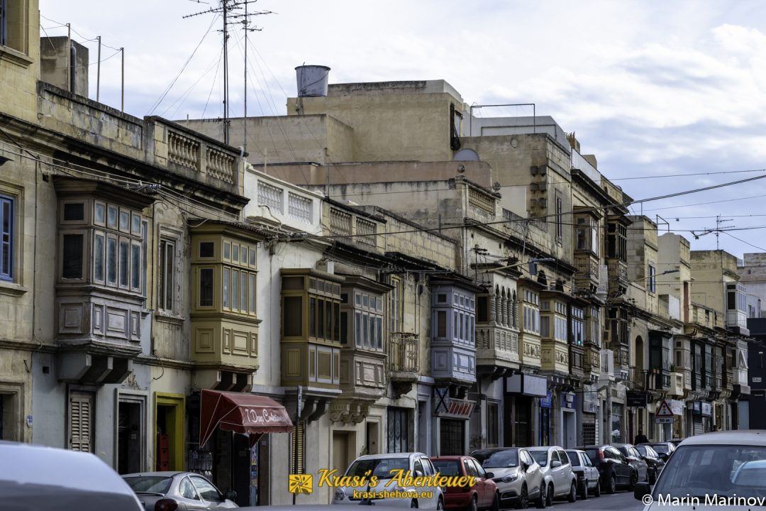 Fassade von Gebäude / Фасада на сграда