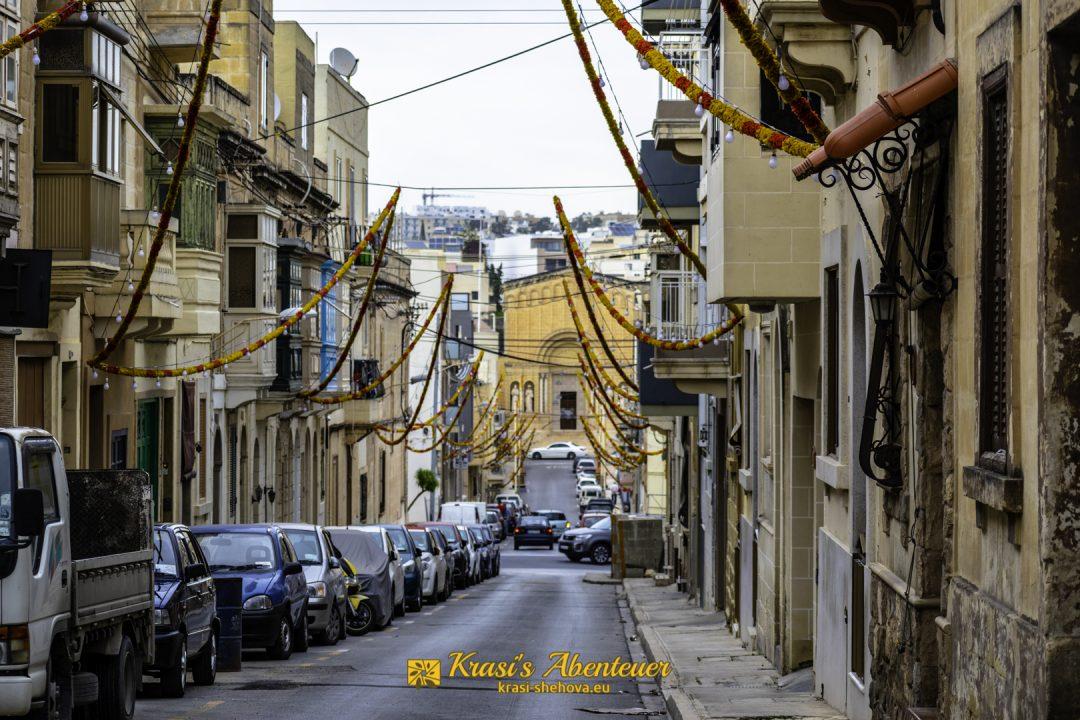 Strasse in Malta / Улица в Малта