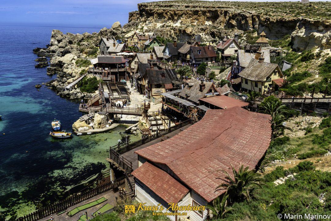 Popeye Village / селото на Попай Моряка