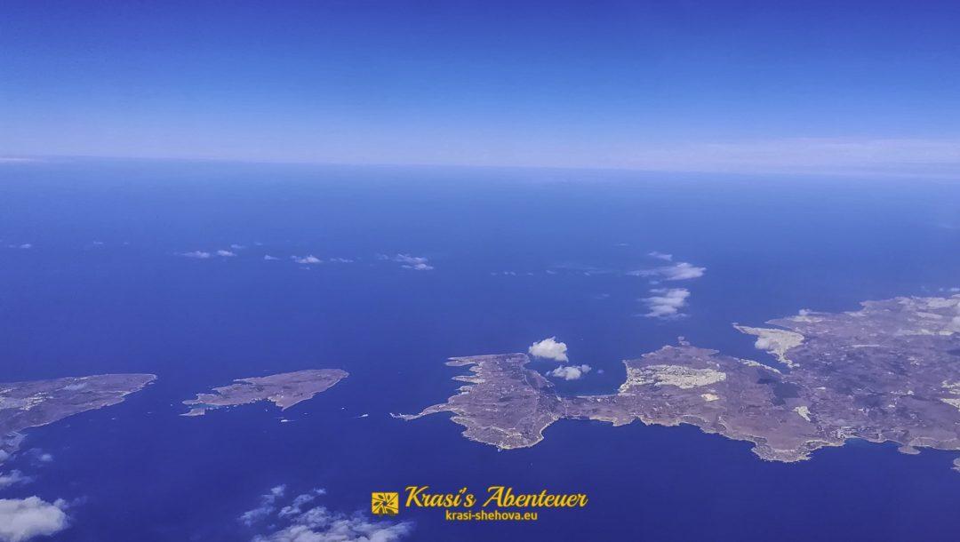 Malta von oben / Малта отгоре